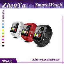 Cheap Android U8 Smart Watch 2015, 3G Touch Screen Bluetooth Wifi Smart Watch Phone
