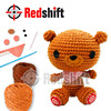 Do it yourself educational toy Crochet Bear