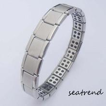 power energy balance titanium magnetic bracelet in China