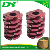 Reduce Cutting Cost 2015 New Product spiral planer cutter head