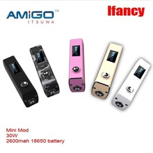 Itsuwa newest sub ohm Amigo Ifancy with 510 thread and watt adjustable