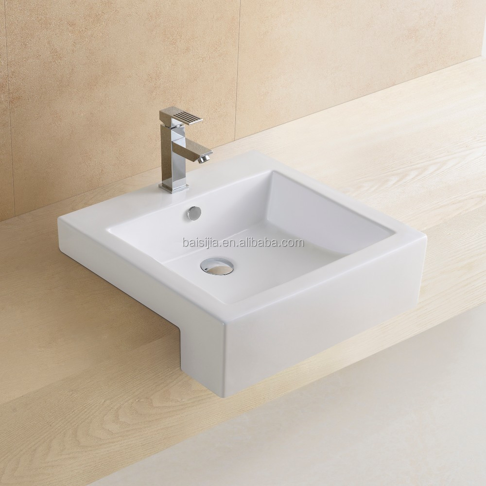 Italian Design Ceramic Wash Basin Bathroom Vanity Basin