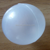 Hollow unpolished PP floating balls used in oil 5mm float to the gasoline or diesel oil for valve