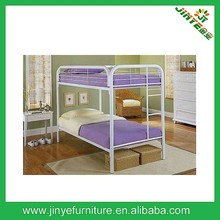 High quality cheap Twin-Twin size steel metal bunk bed frames