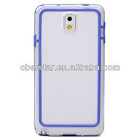 Super Thin Transparent Bumper Frame Case Cover for Samsung Galaxy Note 3 N9008