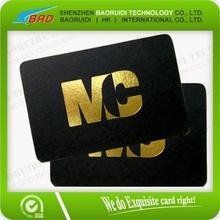 Foil Printed Plastic Business Cards