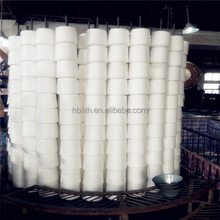 Top quality T20S/3 for dyeing and sewing virgin ring spun 100%polyester yarn