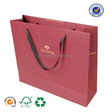 U color Customized paper bag with uv spot