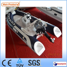3.9m Hypalon boat rigid inflatable boat with engine