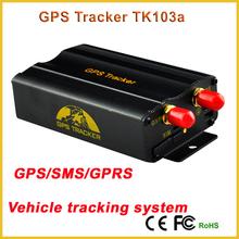 TK103B Tracker TK103A GPS vehicle Tracker engine immobilizer gps car tracker SMS/GPRS