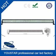 double row aluminum housing 288 watt atv accessory straight 50Inch waterproof led light bar