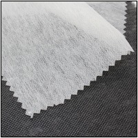 23gsm nonwoven interface fabric nonwoven interlining fabric nonwoven polyester enzyme wash fusing interlining