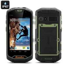 Runbo Q5S Rugged Android Smartphone - IP67 Rating, Gorilla Glass Screen, Quad Core, 1GB RAM, 8GB Memory, Walkie Talkie (