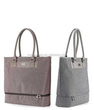 China wholesale nice canvas women golf bag women handbag