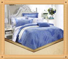 Autumn and winter bamboo jacquard bedding set