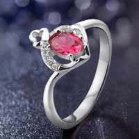 fashion ring finger rings photos!!!925 sterling silver rings jewelry