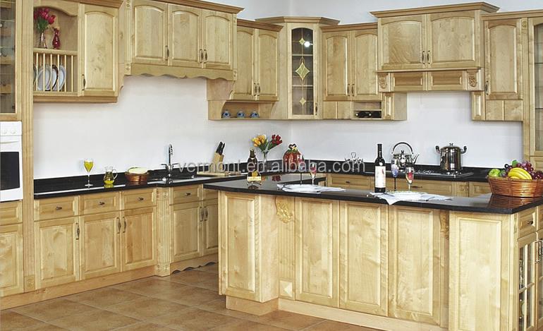 C l bre marque nouveau produit haut de gamme de luxe en bois massif armoires de cuisine armoire Pakistani kitchen cabinet design pictures