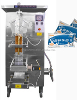 automatic milk low cost price liquid water pouch packing machine