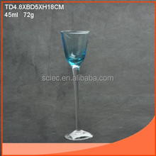 45ml mini goblet for shot and wine glass