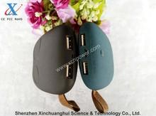 6000mAh Cute chinchilla mobile power bank battery charger