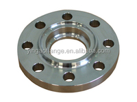 Casting tongue and groove face flange with low price