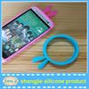 High Quality cute Rabbit shape phone frame silicone bumper case
