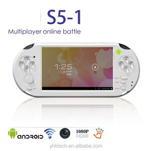 Handheld Game Players 5 inch touch screen Android gaming console