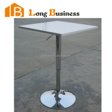 LB-5026 Easy-handling Hot sale new design stylish stainless steel square bar table