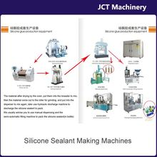 machine for making single part acetic curing silicone