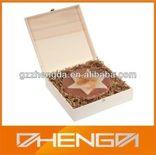 Hot!!! Customized Sweet Shape Truffles Chocolates Packaging Wooden Box For Collective Food Gifts (ZDW14-C007)