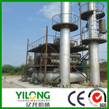PLC control machine to recycle plastic waste to oil with CE
