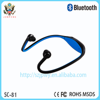 stereo bluetooth headset with mp3 player headphone earphone mp3 player 2015 New version bluetooth 4.1 headset