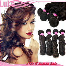 Top Quality Good Shape Spring Curl Human Hair Extension