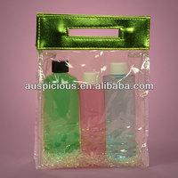 Pattern printed pvc/vinyl tote bag cute gift carry bag