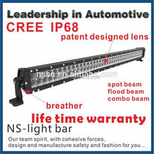 CREE LED Light Bar 240W 2Row 40inch Spot Flood Beam Offroad Driving Lamp Work 4WD Truck ATV