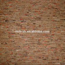 Sughero naturale in lamiera per borse rq-tx101