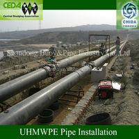Polyethylene mining pipe price