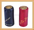 Copa de vino de aluminio botella cap seal con estaño Saran Liner
