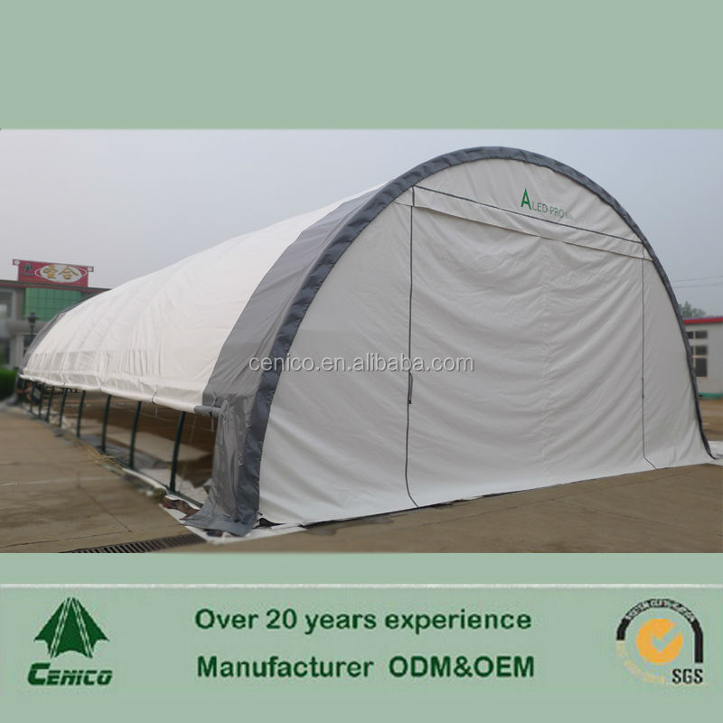 Portable Building Tents : Temporary and portable building storage shelter warehouse