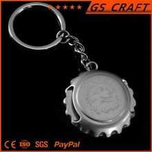 Popular customized durable and fancy key ring bottle opener