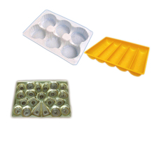 Profession design blister plastic chocolate tray,plastic cookies tray