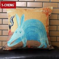 Ikea Animals Design Cotton Cushion Pillow Chair Seat Cushion Backrest Floor Cushion