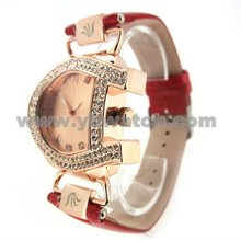 fashion 2015 stainless steel case jewelry vogue wrist lady watch