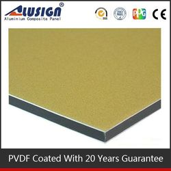 Alusign new design acp panel competive price decor coating