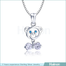 wholesale oem 925 sterling silver jewelry animal