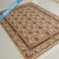 Hecho a mano 5x7.2ft handknotted alfombra de seda kilim alfombra alfombras patchwork