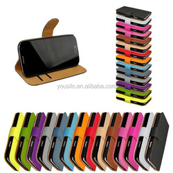 Colorful Two Mobile Phone Leather Case For HTC DESIRE 526G