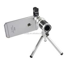 Mobile Phone camera 12x zoom telescope objective lens telephoto lenses for mobile phone