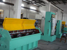 medium wire cable continuous drawing machine and annealer