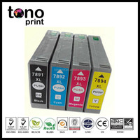 Refillable Ink Cartridge T7891 T7892 T7893 T7894 Inkjet Cartridge for Epson